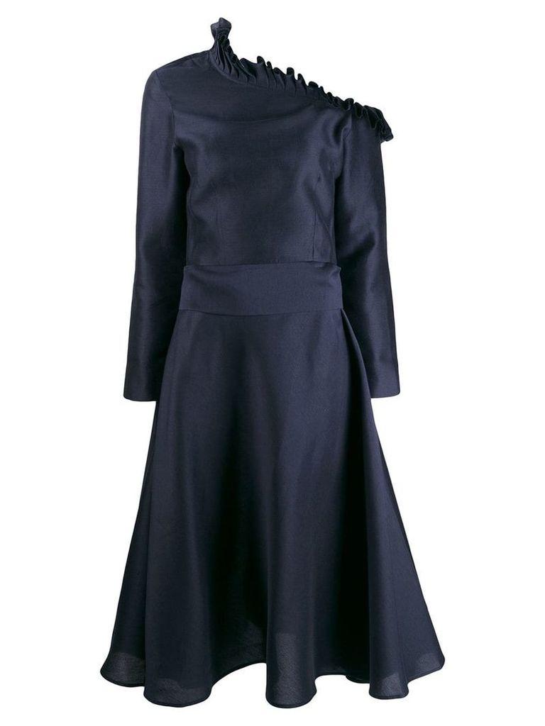 Maggie Marilyn off the shoulder dress - Blue