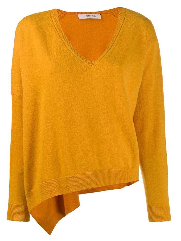 Dorothee Schumacher V neck jumper - Yellow