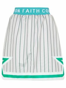 Converse X Faith Connexion reversible basketball skirt - Grey