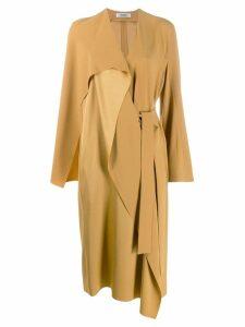 Chalayan wrap dress - Yellow
