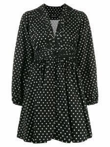 Andamane Allison polka dot dress - Black