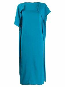 Stefano Mortari short-sleeve shift dress - Blue