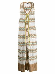 M Missoni zigzag motif cardigan - White