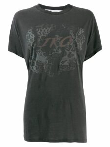 Iro printed loose fit T-shirt - Black