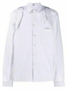 GmbH Suspender shirt - White