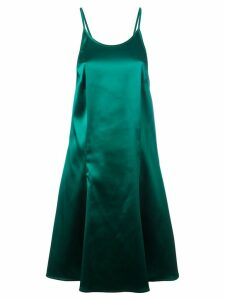 Attico low back dress - Green