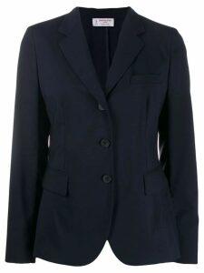Alberto Biani classic single-breasted blazer - Blue