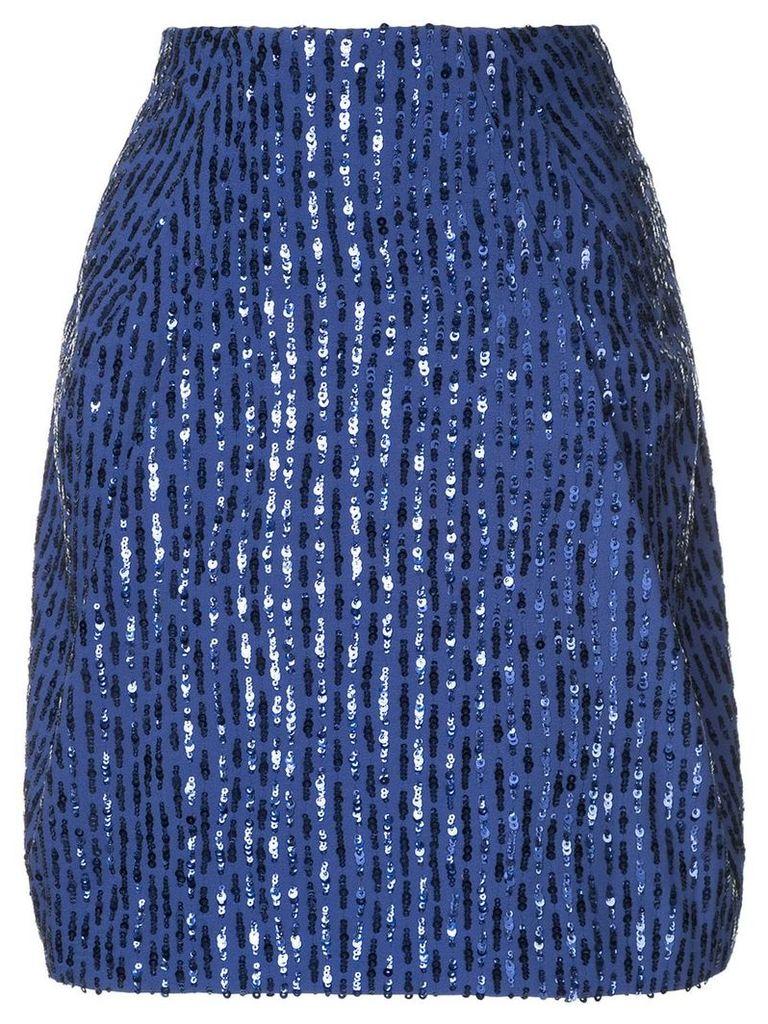 Nina Ricci sequined skirt - Blue