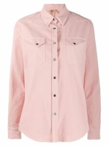 Nº21 chest pocket denim shirt - Pink