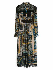 Martha Medeiros Lorain midi dress - Black