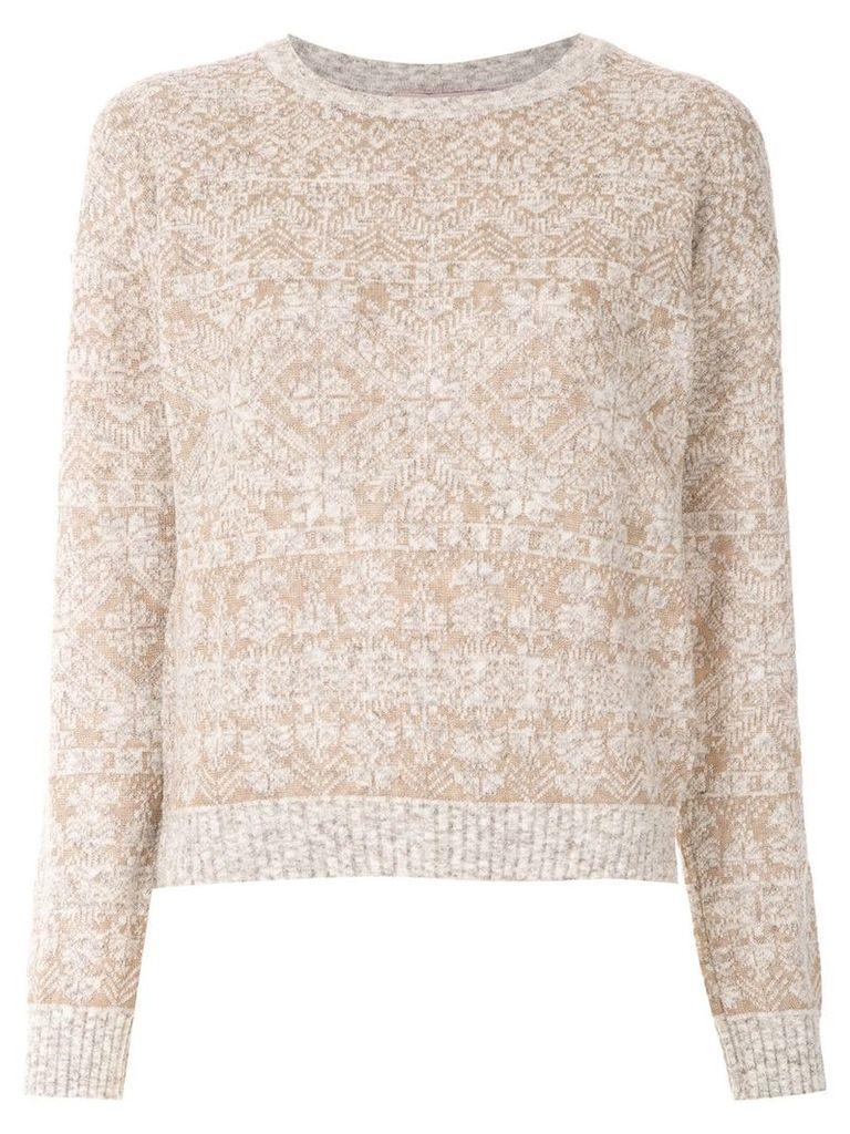 Cecilia Prado Emma knitted top - Neutrals