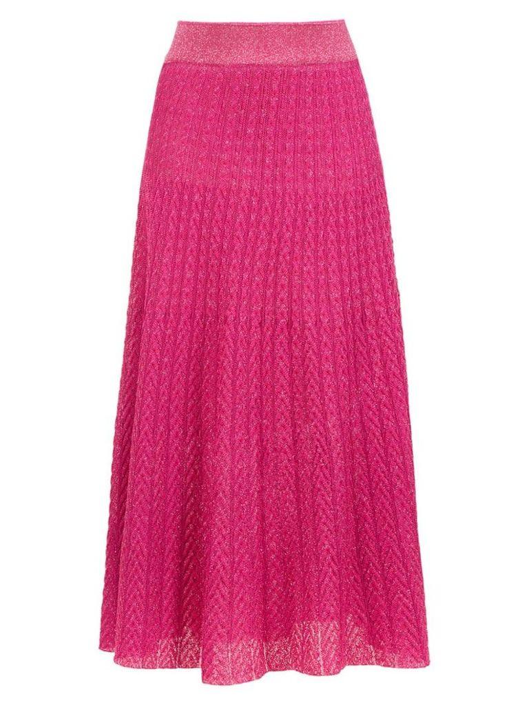 Cecilia Prado Grazi midi skirt - Pink
