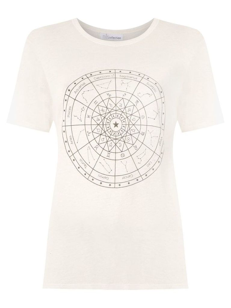 Nk printed t-shirt - White