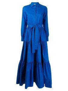 La Doublej maxi flared dress - Blue