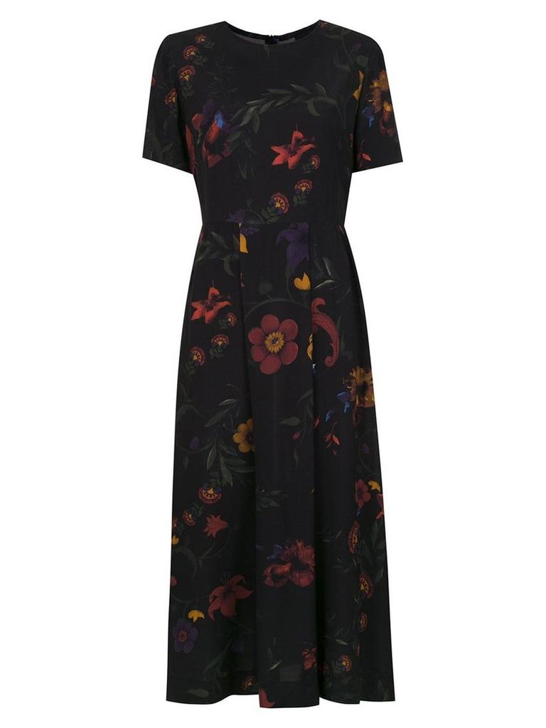 Osklen printed midi dress - Multicolour