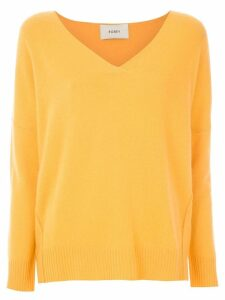 Egrey cashmere sweater - Yellow