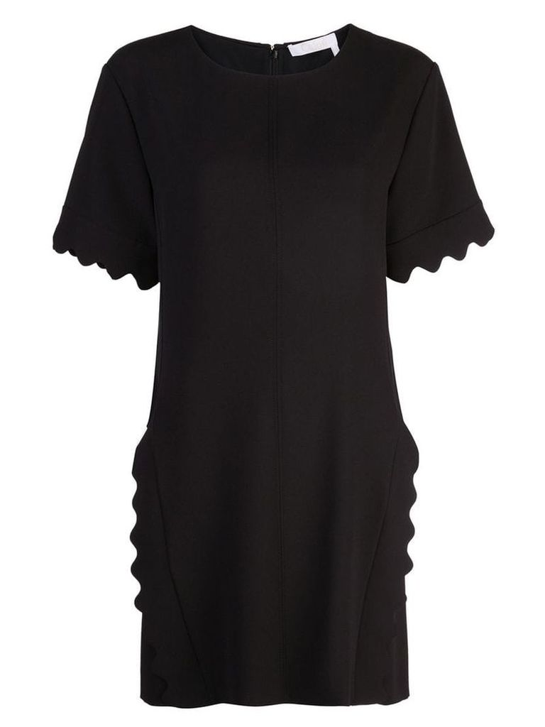 Chloé scalloped dress - Black