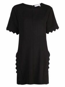 Chloé scalloped dress - Black