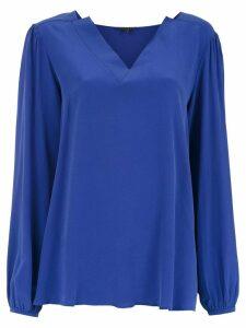 Alcaçuz Land silk blouse - Purple