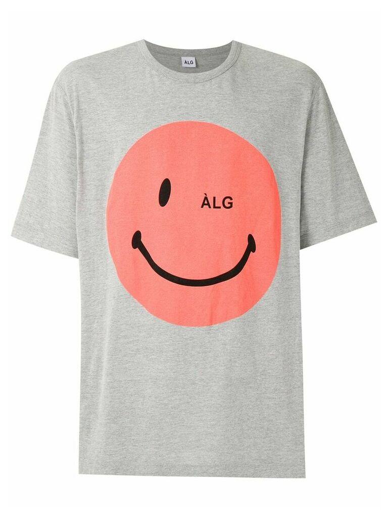 Àlg moletom oversized SMILEY - Grey