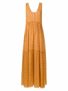 Clube Bossa Mariota long dress - Yellow