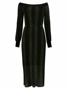 Nk midi knitted dress - Black