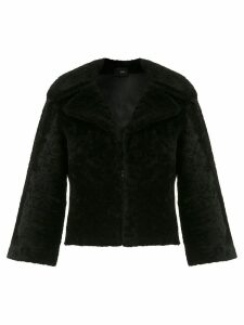 Andrea Bogosian shearling coat - Black