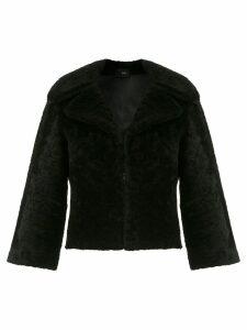 Andrea Bogosian shearling coat - Black