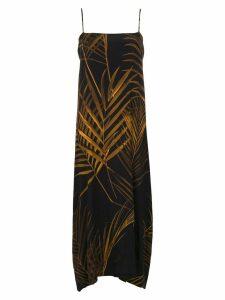 Osklen printed dress - Black