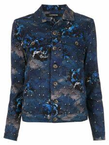 À La Garçonne Night denim jacket - Blue