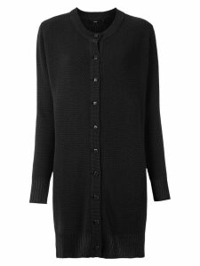 Magrella long-line cardigan - Black