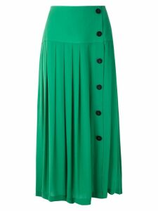 Nk silk midi skirt - Green