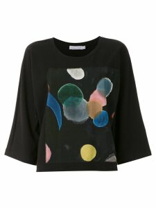 Mara Mac printed t-shirt - Black