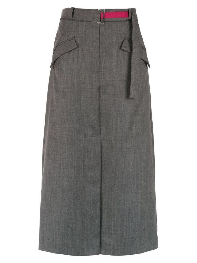 Alcaçuz Lise midi skirt - Grey