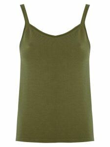 Magrella plain tank top - Green