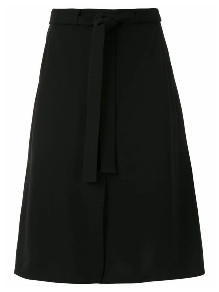 Egrey midi skirt - Black