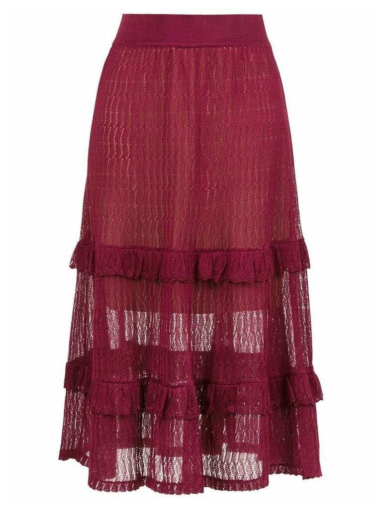 Cecilia Prado Irene midi skirt - Purple