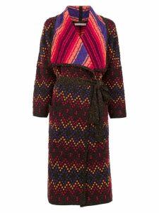 Cecilia Prado knit Evandra coat - Multicolour