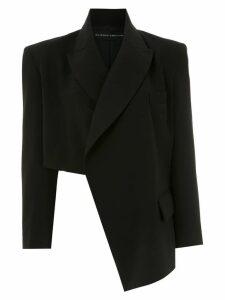 Gloria Coelho asymmetric blazer - Black