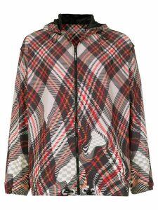 À La Garçonne À La Garçonna x Olympikus checked jacket - Multicolour