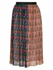 À La Garçonne pleated printed skirt - Multicolour