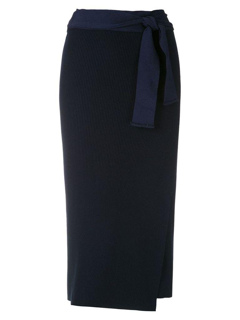 Magrella Pareo midi skirt - Blue