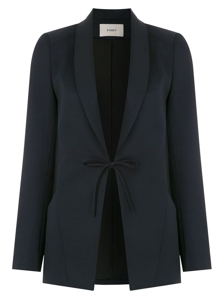 Egrey wool blazer - Blue