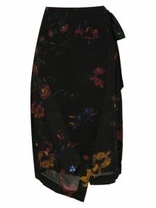 Osklen printed midi skirt - Multicolour