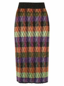 Cecilia Prado Ilse knitted skirt - Multicolour