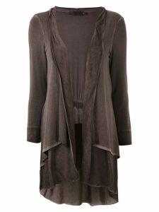 Mara Mac layered cardigan - Brown