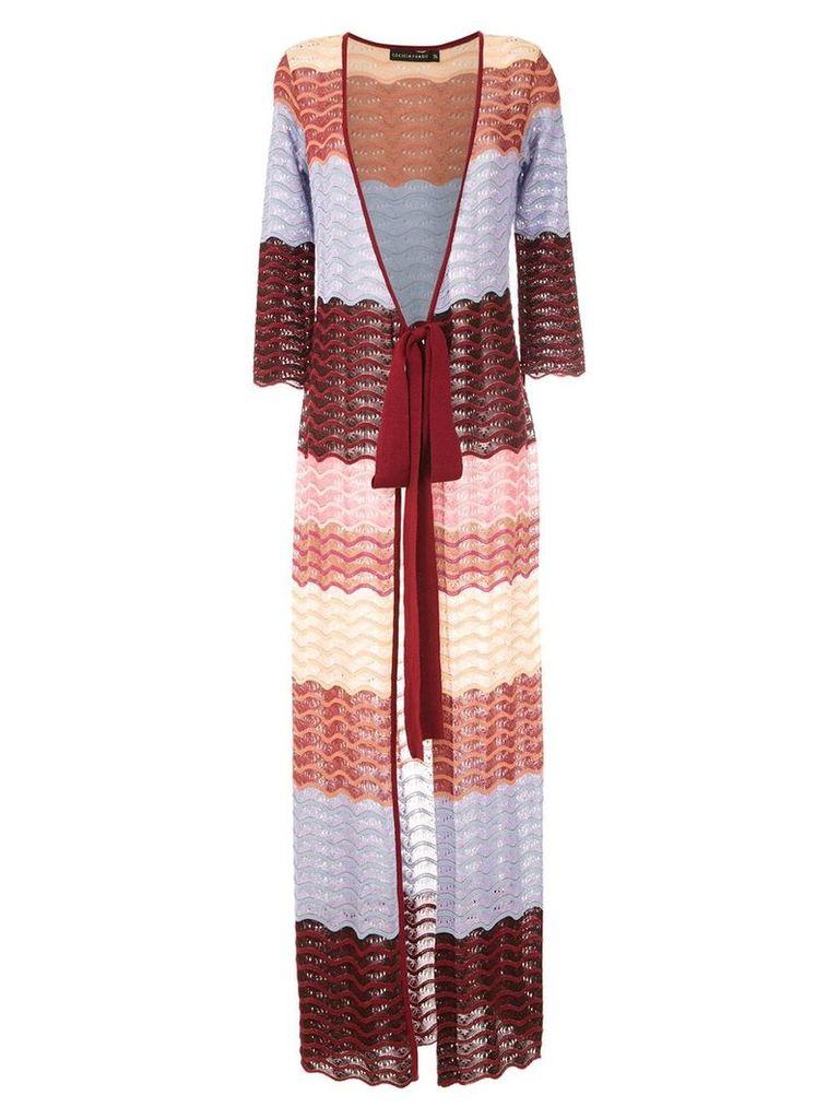 Cecilia Prado Franca knitted coat - Multicolour