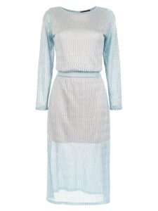 Cecilia Prado Iria midi dress - Blue