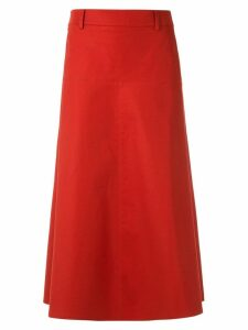 Nk a-line midi skirt - Red