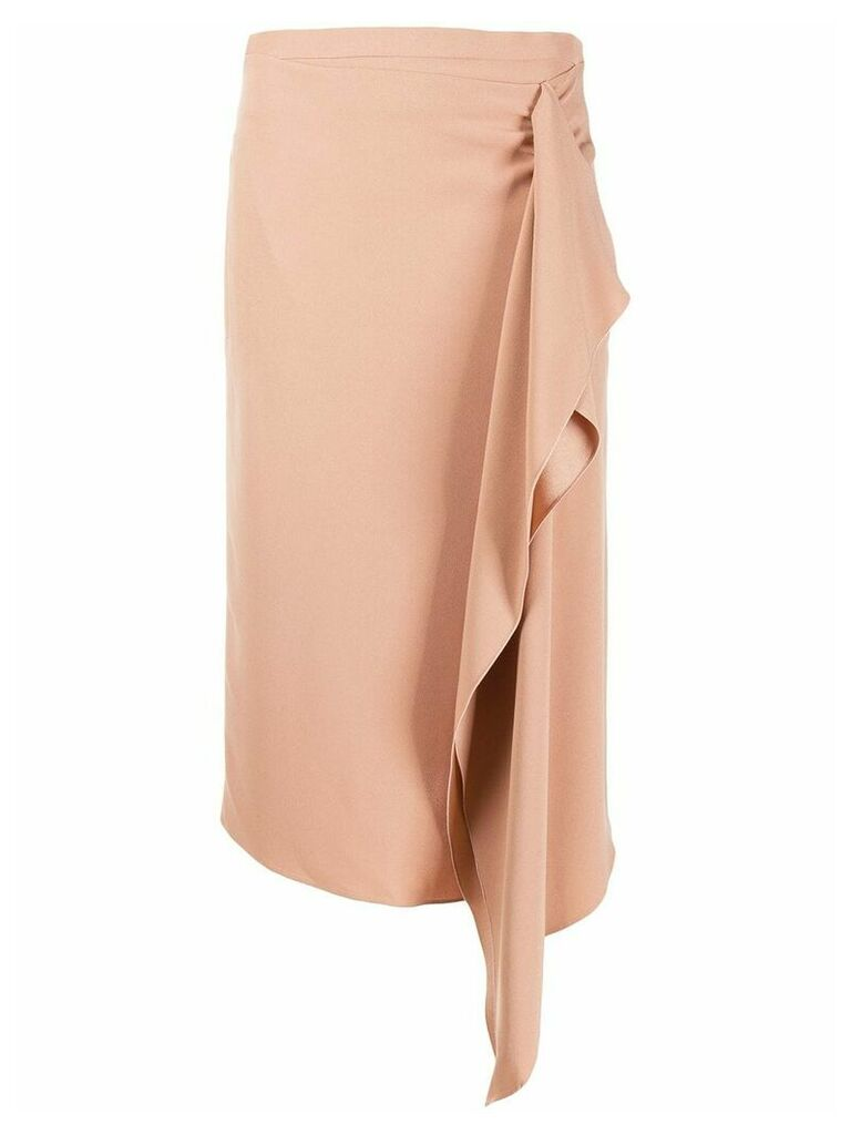 Rochas draped skirt - Neutrals